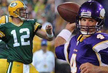 rodgers vs favre