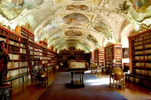 library strahov theological hall