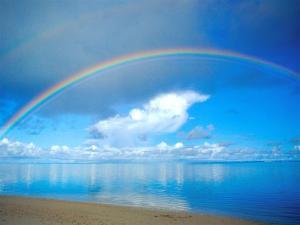 rainbow-ocean