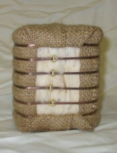 mini cotton bale