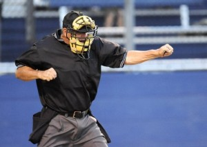 umpire strikeout call