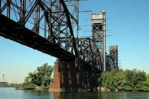 Delair Railroad Drawbridge