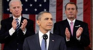 SOTU 2014 Obama Biden Boehner
