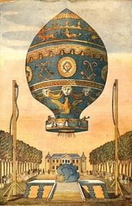 first-manned-balloon-flight