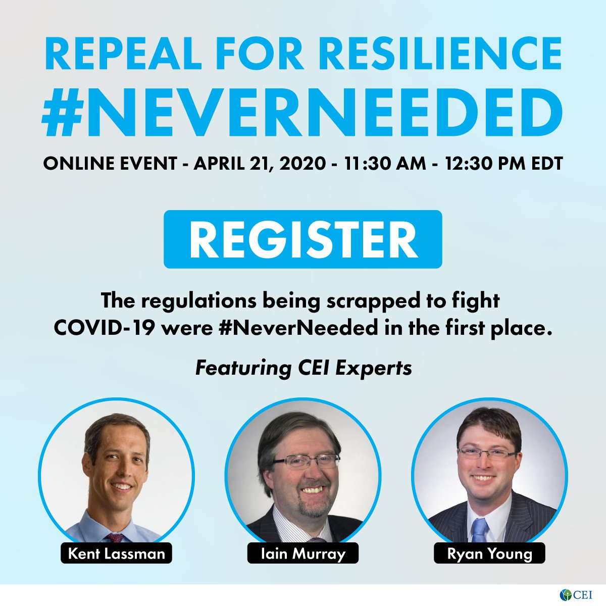 CEI NeverNeeded Event 200421